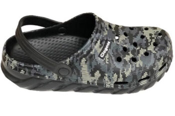 Clogees Mens Outdoor/Beach Clog Camo